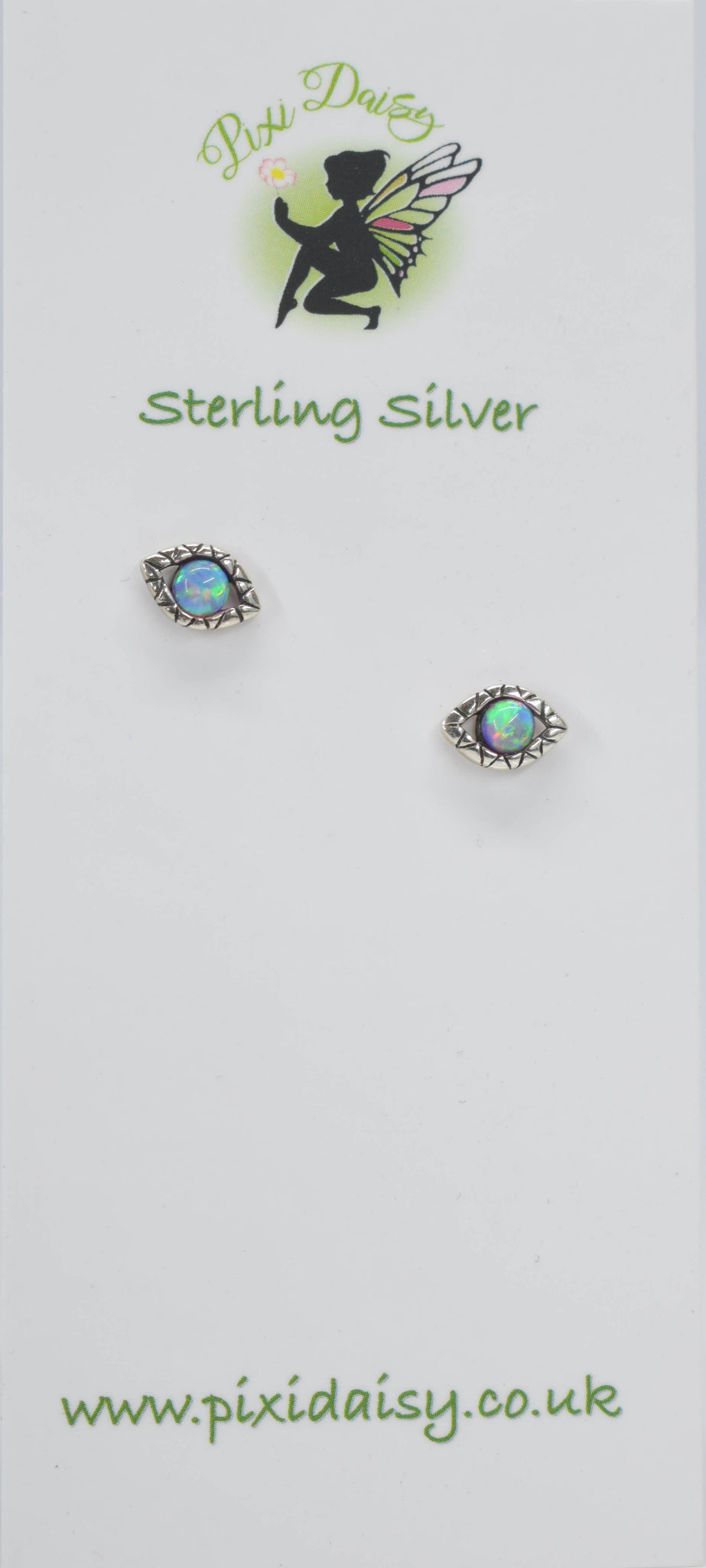 Bubblegum Eye Ear Studs - Pixi Daisy