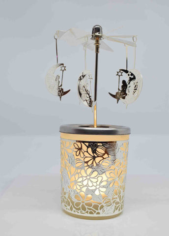Moon & Fairy Tea Light Carousel - Pixi Daisy
