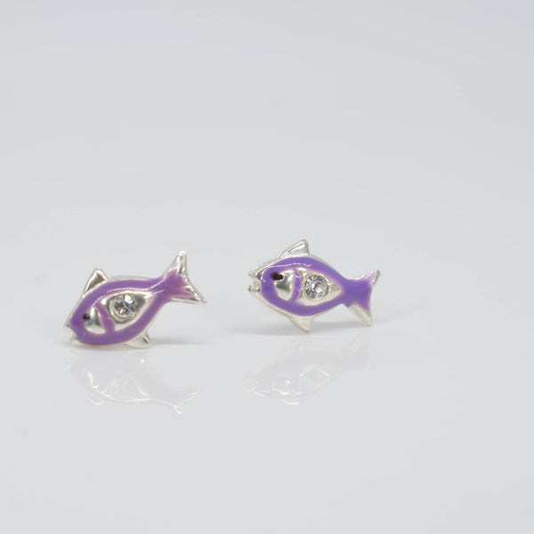 Fish Ear Studs - Pixi Daisy