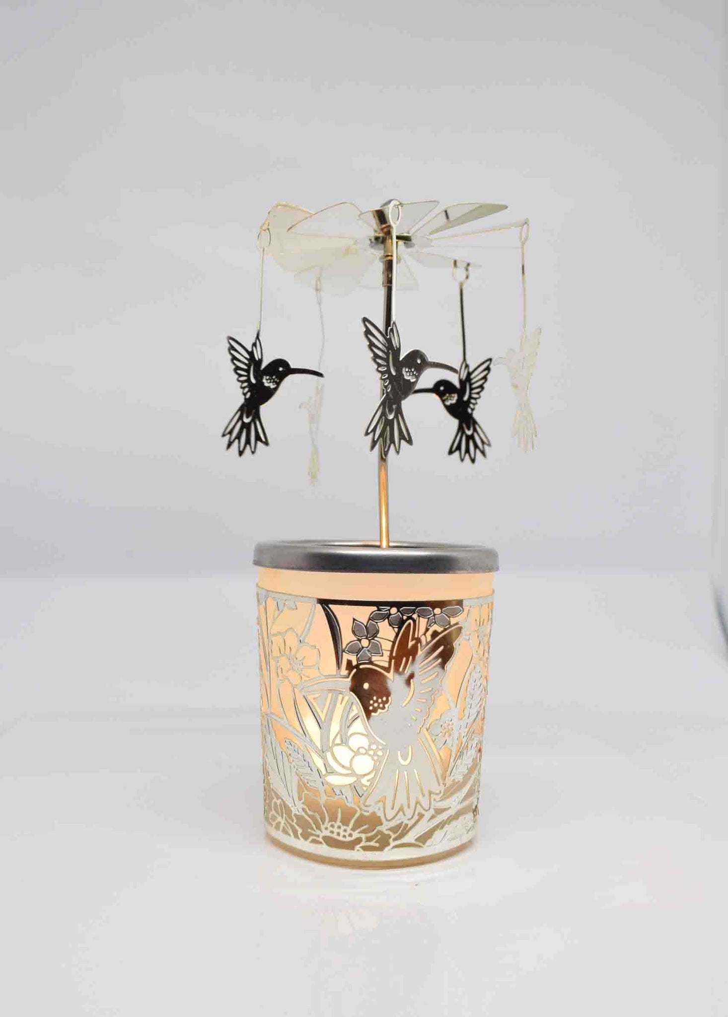Flowerbird Tea Light Carousel - Pixi Daisy