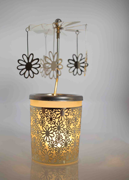 Flower Tea Light Carousel - Pixi Daisy