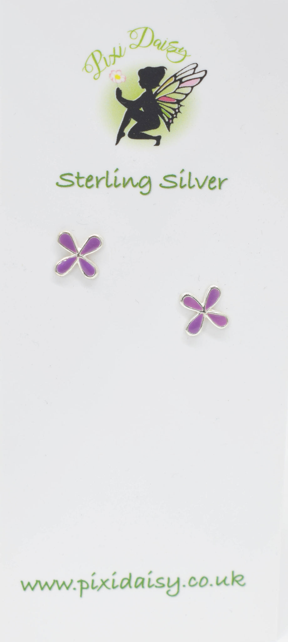 Purple 4 Leaf Clover - Pixi Daisy