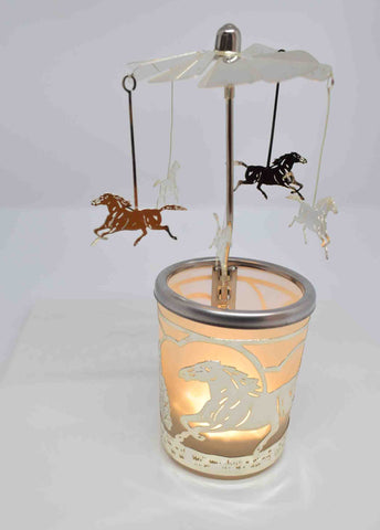 Horse Tea Light Carousel - Pixi Daisy