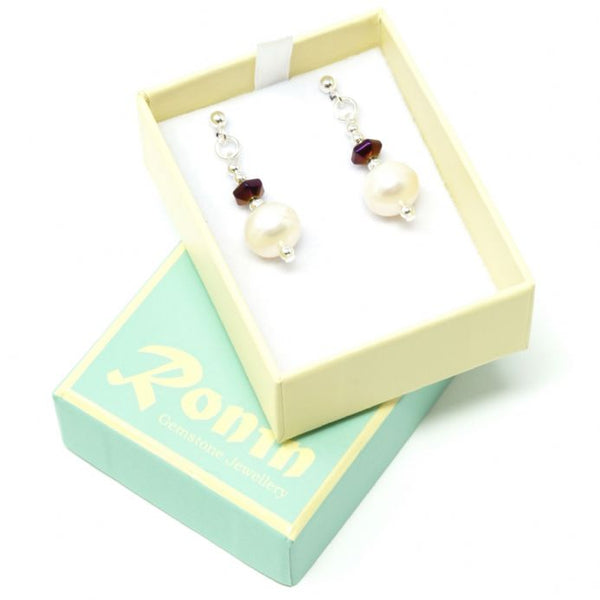 Ronin Jewellery Isabel Stud earrings - pixi daisy