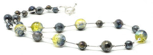 Ronin Jewellery Juniper Labradorite necklace - pixi daisy