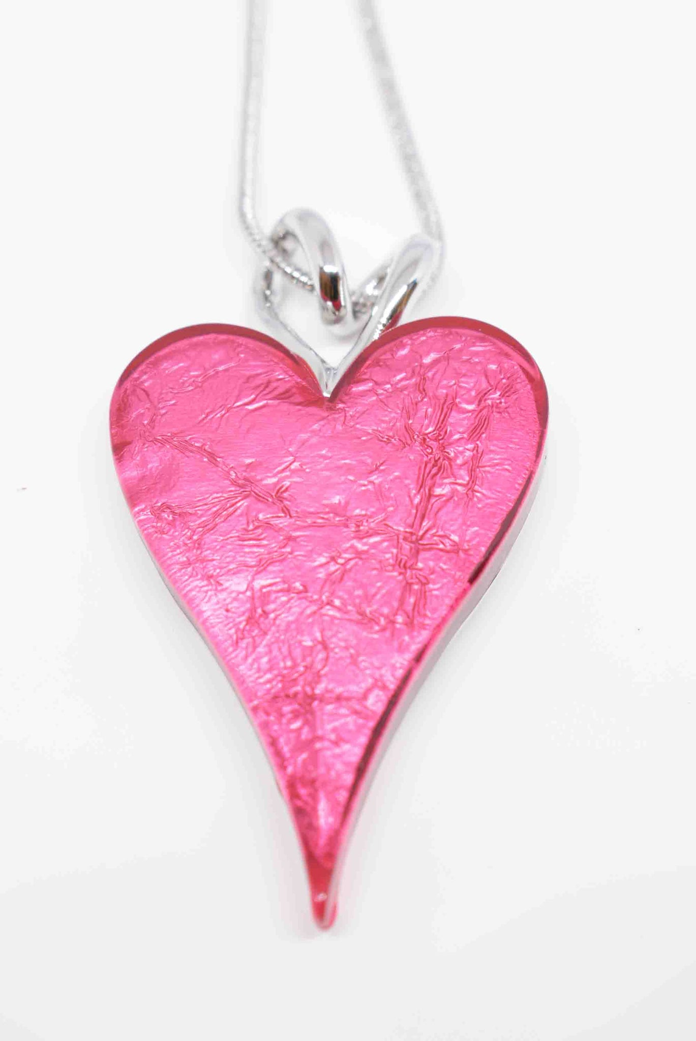 Miss Milly Pink Heart Necklace