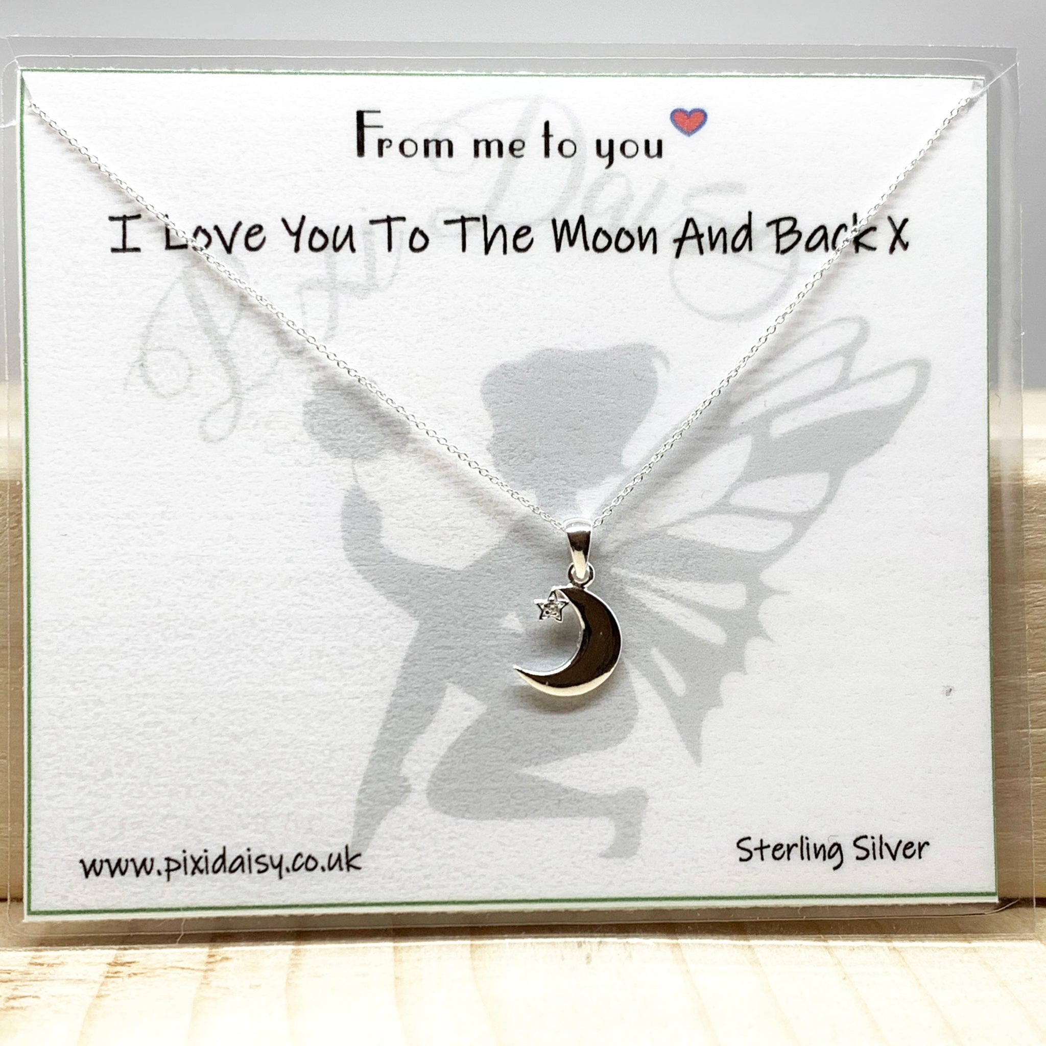 I Love You to the Moon & Back Sentiment from Pixi Daisy