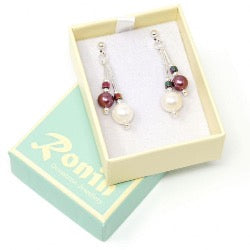 Ronin Jewellery Orchid Earrings - pixi daisy