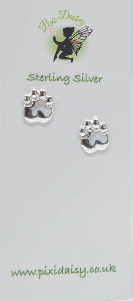 Dog Paws Ear Studs - Pixi daisy