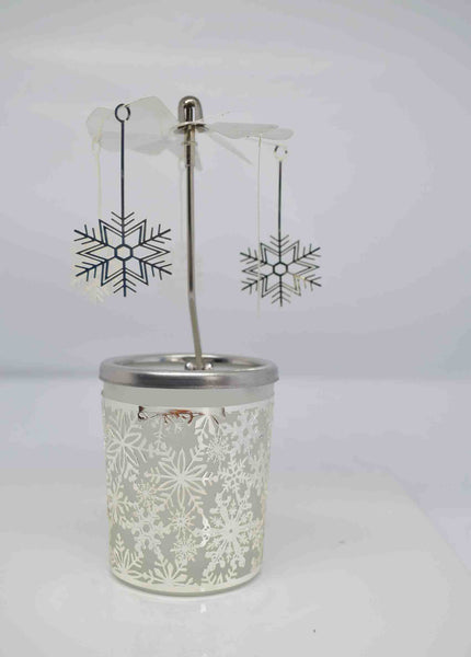 Snowflake Carousel Tea Light Holder - Pixi Daisy