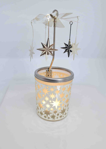 Stars Tea Light Carousel - Pixi Daisy
