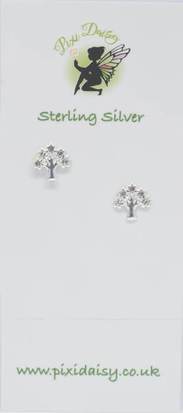 tree of life ear studs - Pixi daisy