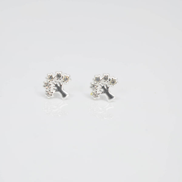Tree of Life Crystal ear Studs - Pixi Daisy