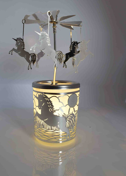 Unicorn Carousel Tea Light Holder - Pixi Daisy