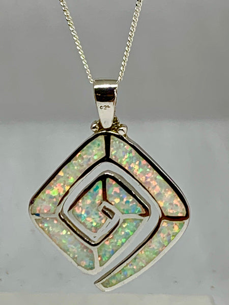 White Opal Pendant from Pixi Daisy