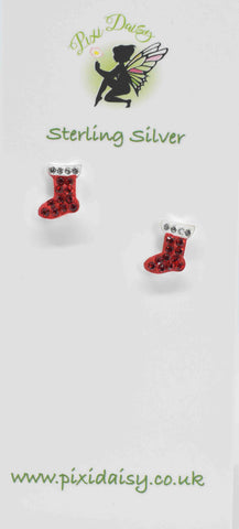 Sparkly Christmas Boots - Pixi Daisy