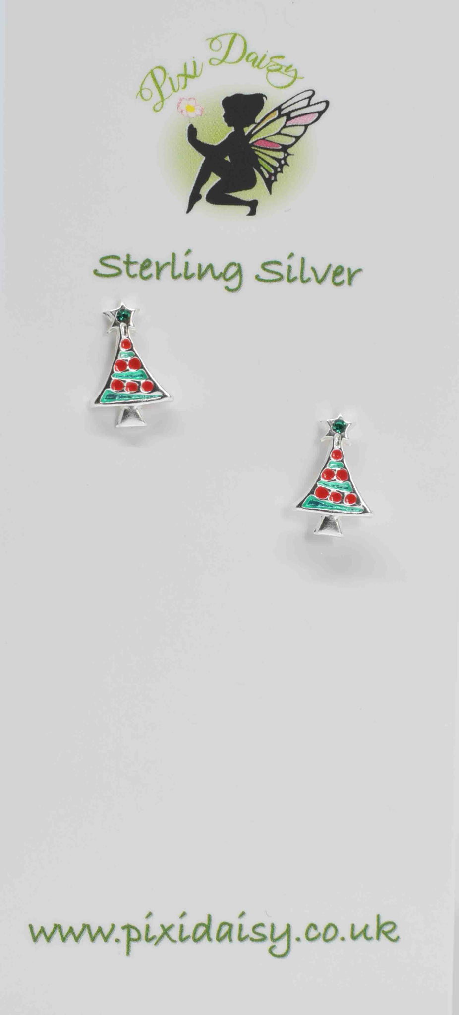 Colourful XMas Trees - Pixi Daisy