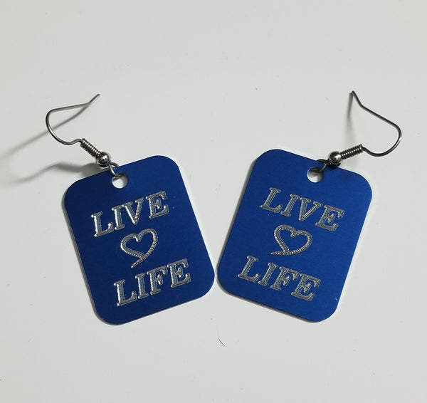 Live, Love, Life Earrings
