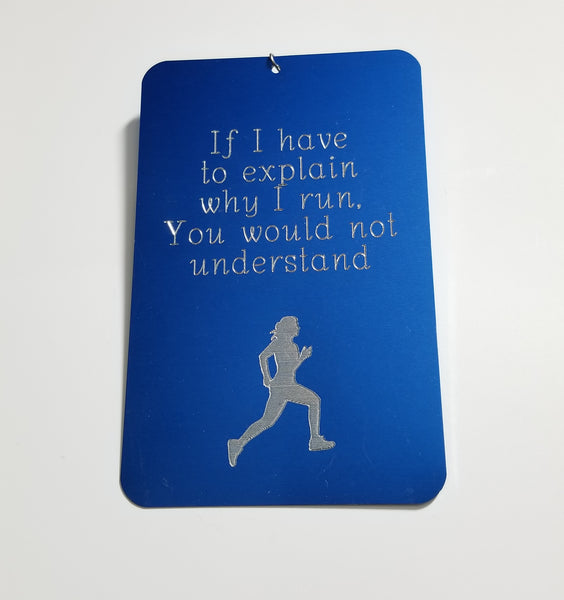 Runner Wall Hanging