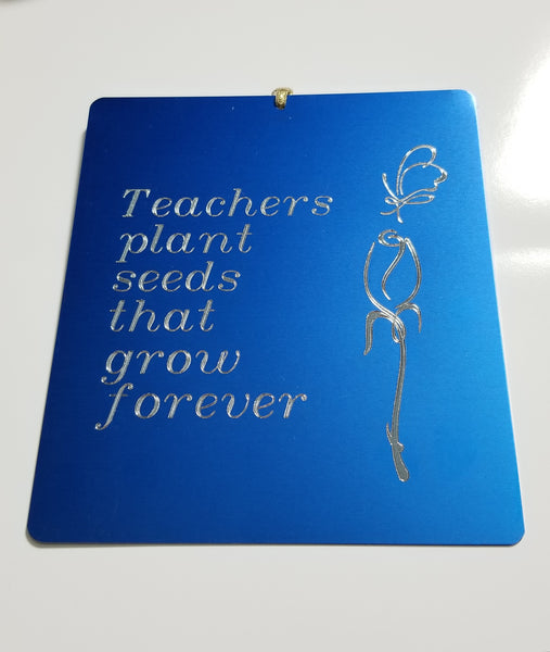 Teacher Wall Hanging