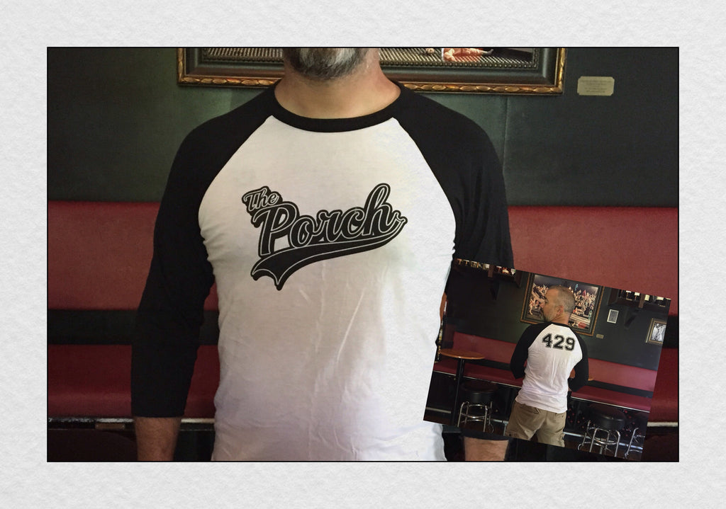 The Porch Baseball Tee