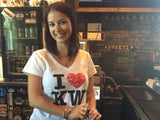 """I Love Key West"" V-Neck Porch Ladies Shirt."