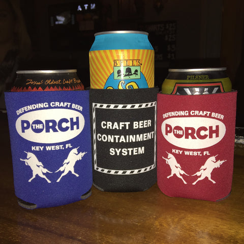 Porch Craft Beer Containment Coozie