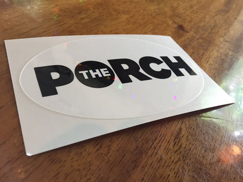 Porch Sticker