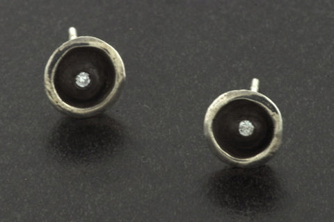 Basin Studs - Small Oxidized