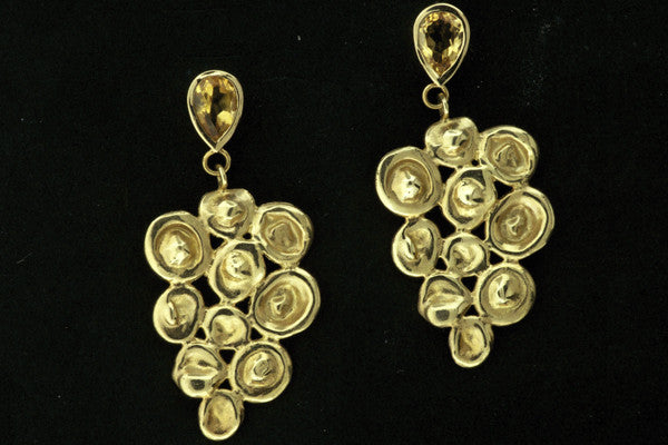 Sauvignon Earrings with Citrine