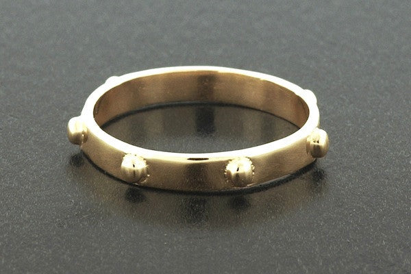 Stud Ring Gold