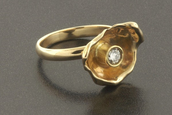 Oyster Ring Diamond