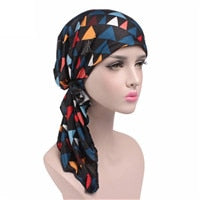 Load image into Gallery viewer, Long Point Pre-Tied Fashion Scarf (8 Colors)