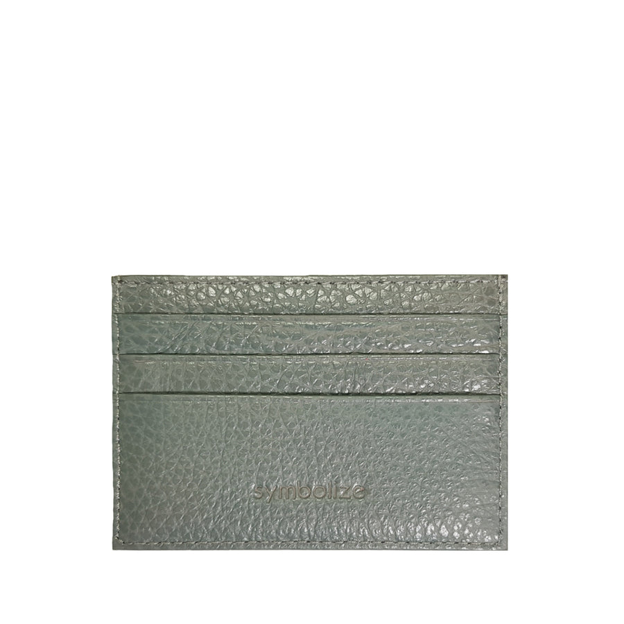 Card Wallet Abu-Abu