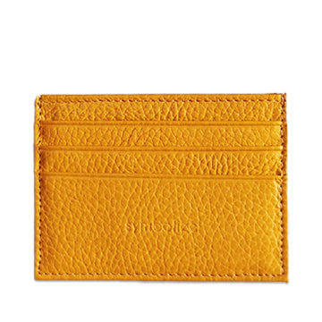 Card Wallet Yellow