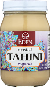 Eden Foods Tahini Roasted, 16 oz