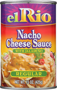 El Rio Nacho Cheese Sauce with Jalapeno Regular, 15 oz