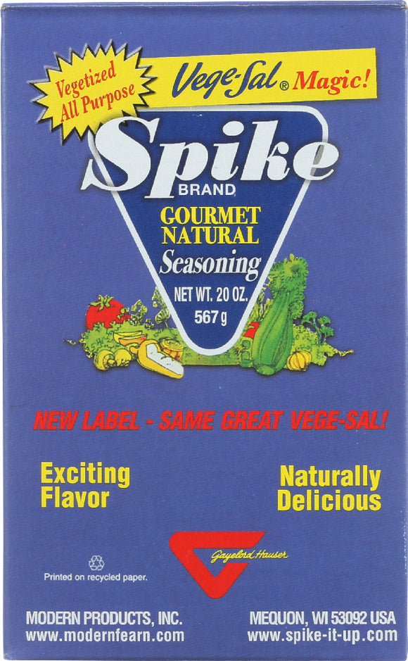 Spike Vege-Sal Magic Gourmet Natural Seasoning, 20 oz