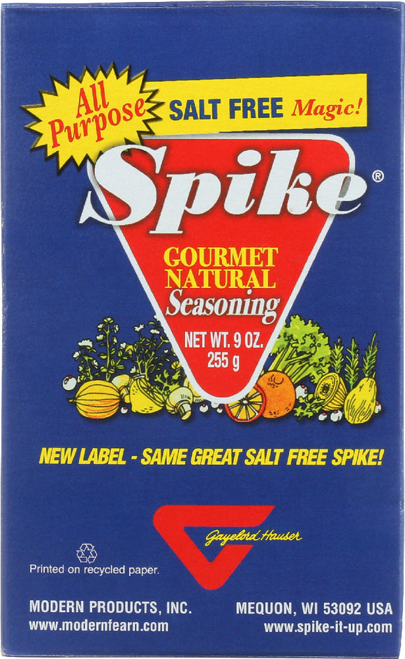 Spike Gourmet Natural Seasoning Salt Free Magic, 9 oz
