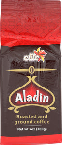 Elite Aladdin Roasted Ground Turkish Coffee, 7 oz