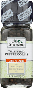 Spice Hunter Tellicherry Peppercorns Grinder, 2.2 oz