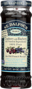 St Dalfour Cranberry With Blueberry, 10 oz