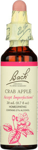 Bach Original Flower Remedies Crab Apple, 0.7 oz
