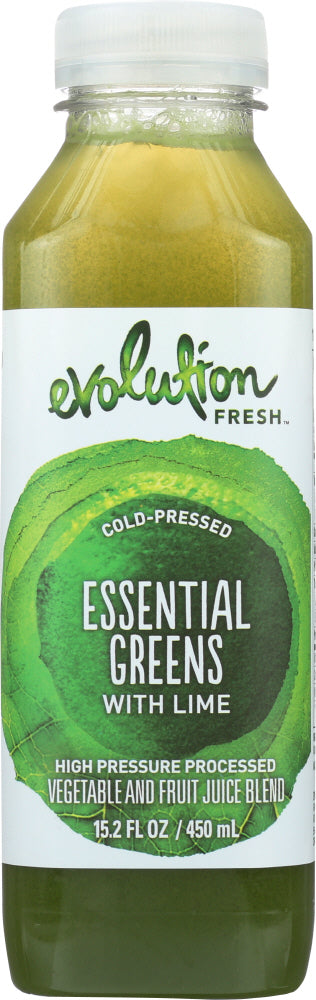 Evolution Fresh Essential Greens with Lime Juice, 15.2 oz