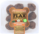 Flax4Life Mini Muffins Toasted Coconut Brownie, 14 oz