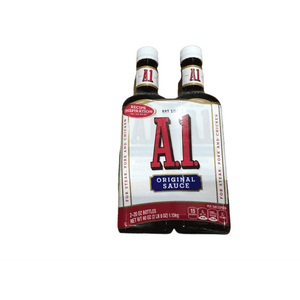 A1 A1 Original Sauce for Steak, Pork & Chicken, 20 oz x 2 Bottles