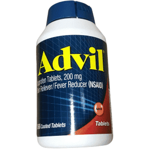 Advil Advil Pain Reliever and Fever Reducer Coated Tablets, 200 mg - 360 count