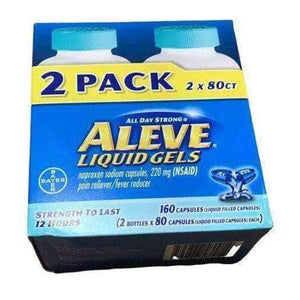 Aleve Aleve All Day Strong Pain Aid, 160 Liquid Gels