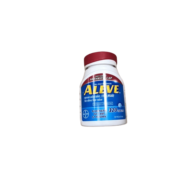 Aleve Aleve Pain Reliever with Arthritis Cap, 320 ct.