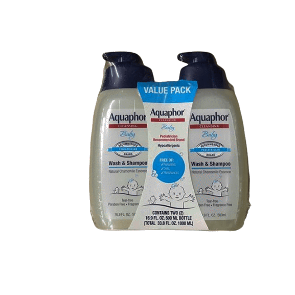 Aquaphor Aquaphor Baby Wash & Shampoo Value Pack, 2 pk. /16.9 fl. oz.